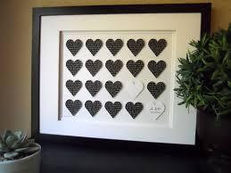 wedding present ideas wedding lyric 3d paper framed gift ways to say