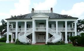 plantation style homes were there no big plantation style homes in the south before the