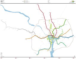 Pentagon Map Washington Metro Map To Scale On Behance