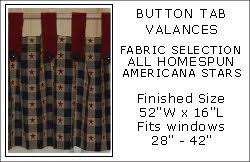 Button Valance Valance Window Coverings Button Tab Valances Annies Interiors