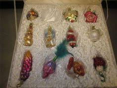old world christmas bride u0027s collection 11 ornaments silk box set