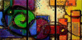 modern abstract huge canvas art oil painting in painting