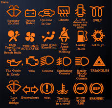 infiniti dashboard warning lights funny interpretations of the lights on your car dashboard what they