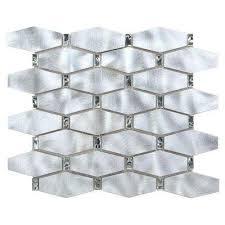 Silver Metallic Countertops  Backsplashes Kitchen The Home - Aluminum backsplash