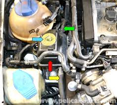 volkswagen golf gti mk iv power steering pump and reservoir