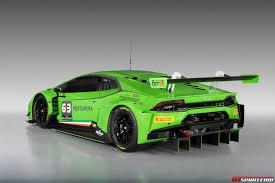 Lamborghini Huracan With Spoiler - official lamborghini huracan gt3 gtspirit