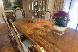 10 luxury dining furniture exquisite boulle marquetry