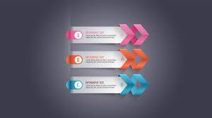photoshop tutorial graphic design infographic modern arrow youtube