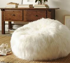 Fuzzy White Chair Best Furry Bean Bag Chair Photos 2017 U2013 Blue Maize