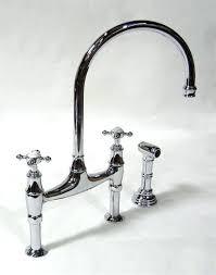 perrin and rowe kitchen faucet gooseneck bridge kitchen faucet amazing kitchen bridge kitchen