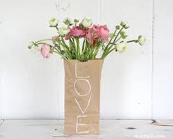 Bag Vase Paper Bag Vase Flower Diy Popsugar Home Australia