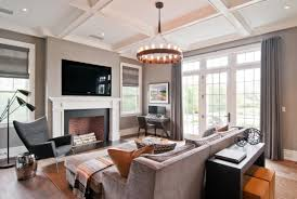 Country Living Room Ideas With Fireplace And Tv Gray Modern Family Room Living Design Ideas Lonny Ebdmagalx