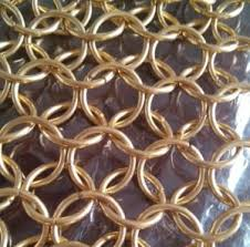 Chain Mail Curtain China Stainless Steel Decorative Chainmail Curtain Sheets China