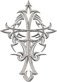 tribal cross angel wings tattoo graphic photos pictures and