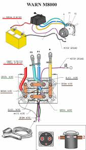 warn winch m6000 wiring diagram 28 images warn winch wiring