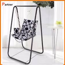 Patio Swing Chair With Stand by Outdoor Patio Foldable Metal Garden Kids Swing Chair Indoor Swing