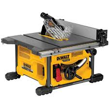 dewalt table saw review dewalt flexvolt 60 volt max lithium ion cordless brushless 8 1 4 in