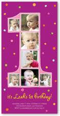 4 photo first birthday invitations u0026 1st birthday invites
