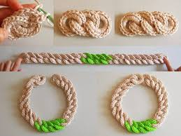 crochet necklace pattern images Crochet chunky chain necklace crochet kingdom jpg