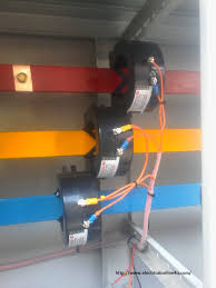 current transformer installation for three phase power supply ct