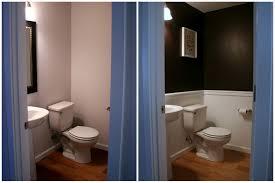 Blue And Brown Bathroom Ideas Plain Half Bathroom Ideas Brown Bath Powder Room Throughout Design