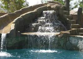 diy pool waterfall 9 best images about what i would like most on pinterest mosaics