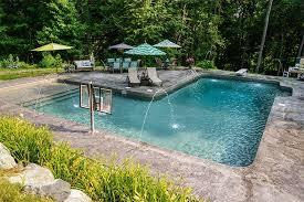 Pools Backyard L Shape Inground Pool Kits Royal Swimming Pools Awesome