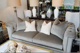 what u0027s new wednesday velvet tufted sofa heather scott home u0026 design