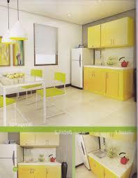 Kitchen Set Minimalis Putih Desain Kitchen Set Warna Orange Minimalis 4 95 Juta Untuk Dapur
