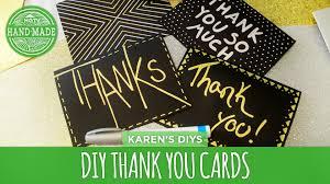 Thank You Card Designs Diy Thank You Cards Hgtv Handmade Youtube
