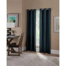 blue curtains u0026 drapes window treatments the home depot