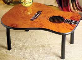 Guitar Home Decor Acoustic Guitar Coffee Table Crafty Pinterest Acoustic