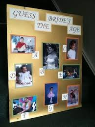 Guess The Bride     s Age allows bridal shower guests to reflect on the past  See more