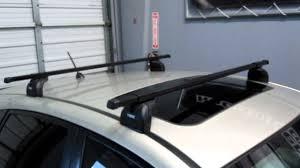 Ors Roof Racks by Subaru Impreza 5 Door Hatchback With Thule 460 Podium Base Roof