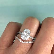 oval wedding rings oval diamond engagement rings and wedding bands ide oval diamond