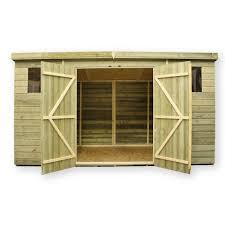 dasheds 8x8 wood shed 10x8 bathroom