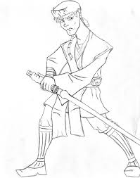anakin skywalker coloring page free download