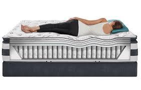 Pillow Top Mattress Pad For Crib Icomfort Observer Pillow Top Mattress By Serta