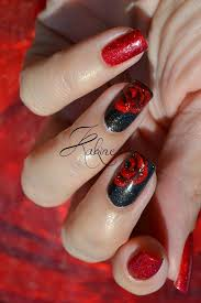 best 20 rose nail design ideas on pinterest rose nail art