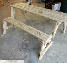 Folding Picnic Table To Bench Folding Benches Foter