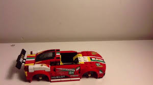 lego ferrari 458 lego ferrari 458 and custom mclaren rally car moc stop motion