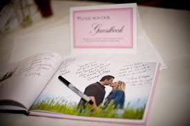 guest book photo album wedding guest book rooted in