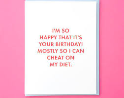 birthday card funny birthday card best friend birthday card