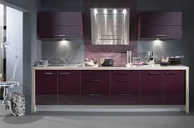 meuble de cuisine aubergine cuisine aubergine et grise choosewell co