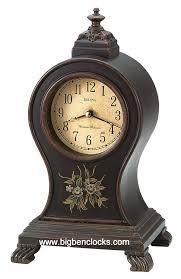 Forestville Mantel Clock Bulova Mantel Clock B5501 Balloon