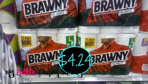 spirit halloween retailmenot brawny paper towels 6pk 4 24 publix my publix coupon buddy