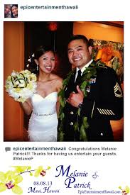 photobooth for wedding wedding photo booth epic entertainment hawaii