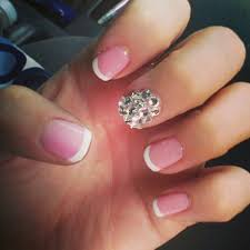 prom nails with rhinestones hair and nails pinterest prom