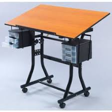 Creation Station Desk Art Tables Easels U0026 Furniture Plazaart Com