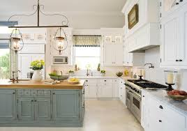 painted islands for kitchens two tone kitchen eclectic kitchen emily gilbert photography